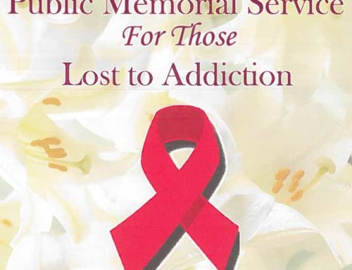 Public Memorial Service for those Lost to Addiction