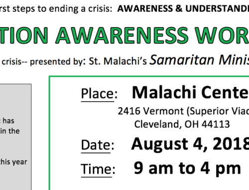 Addiction Awareness Workshop: August 4