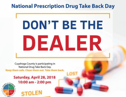 Dispose of unwanted medications April 28 – National Prescription Drug Take Back Day